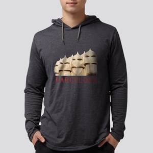 Barelona Architecture Long Sleeve T-Shirt